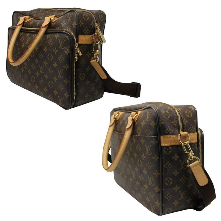 ef2c506927b5c Women s or Men s Louis Vuitton Icare Monogram Laptop Case Messenger Bag For  Sale
