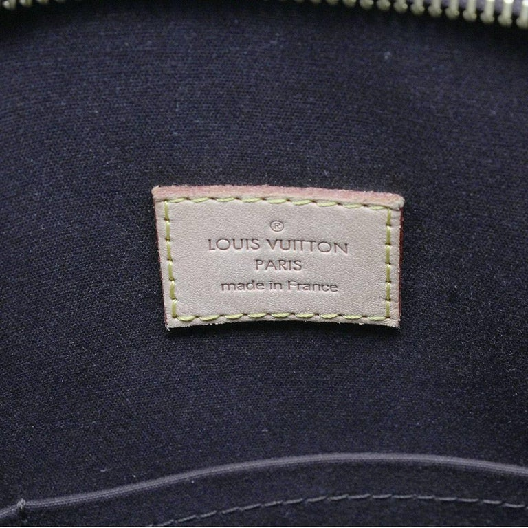 Louis Vuitton Brentwood Amarante Vernis Tote Bag For Sale 5