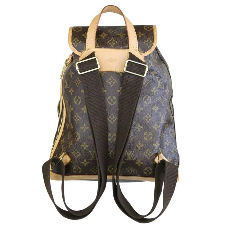 2dd954944a88 Company  Louis Vuitton Handles  Brown Adjustable Canvas Shoulder Straps  Measurements  12.2. Louis Vuitton Sac A Dos Bosphore Monogram Canvas  Backpack ...