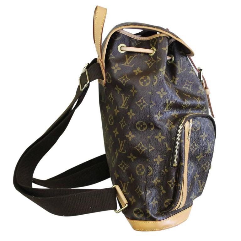 Sac A Dos Louis Vuitton Michael : Louis vuitton sac a dos bosphore monogram canvas backpack