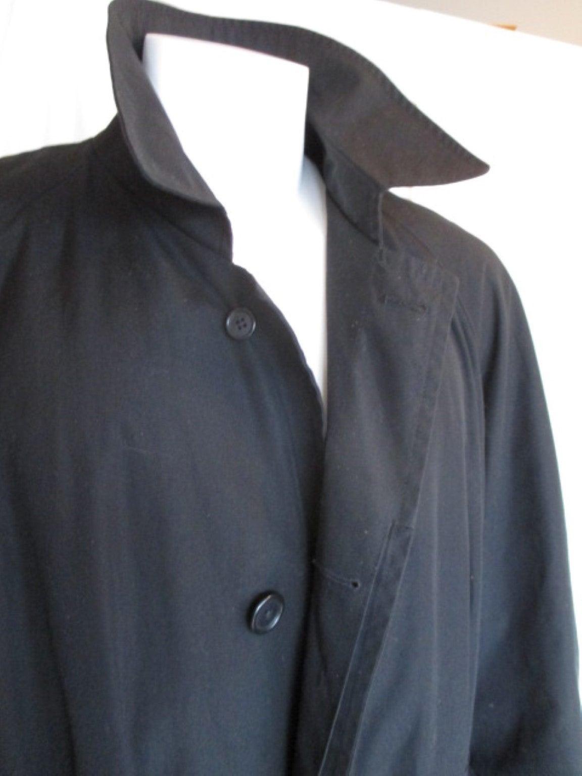 Christian Dior black men's topcoat 3