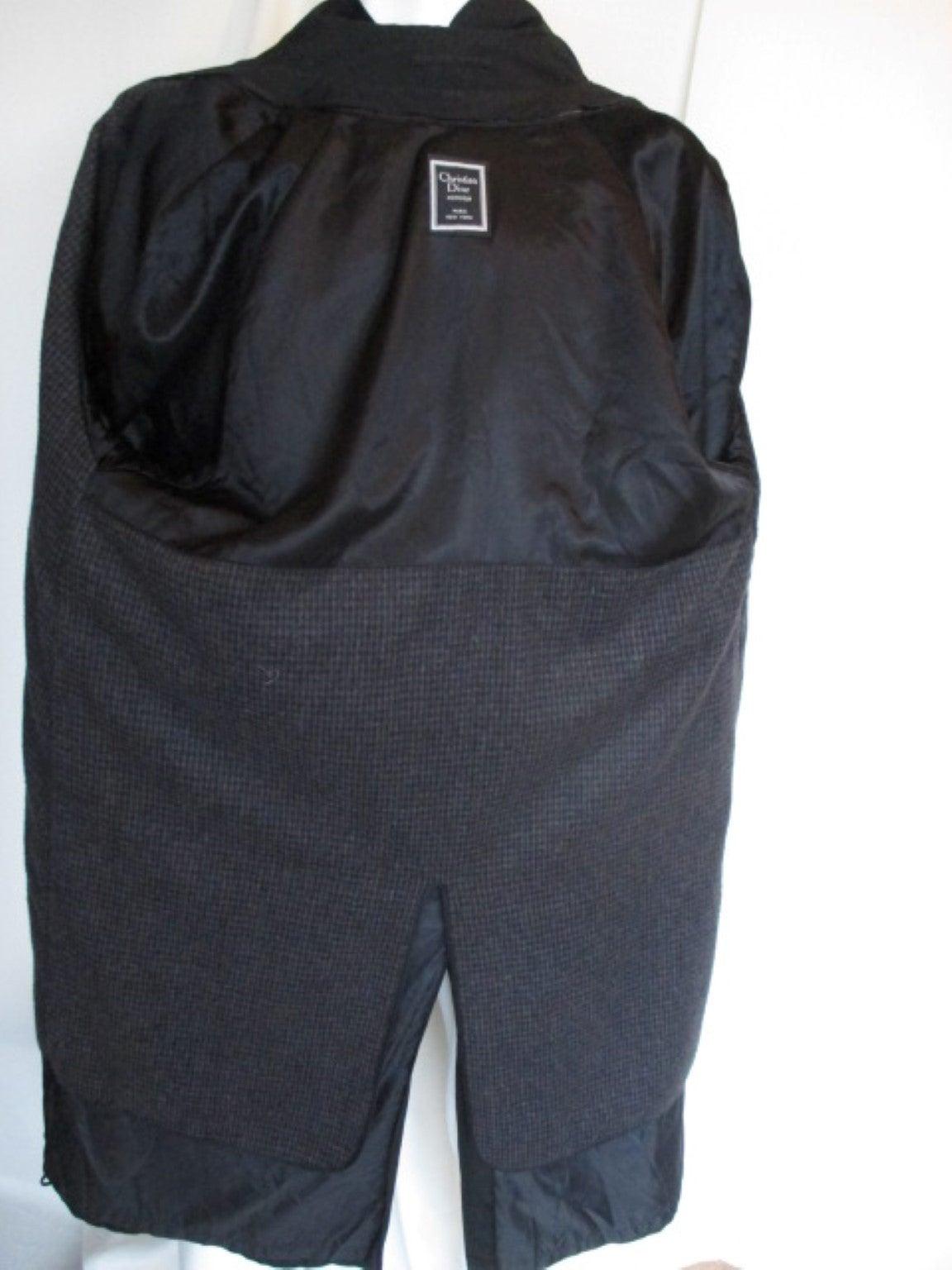 Christian Dior black men's topcoat 4