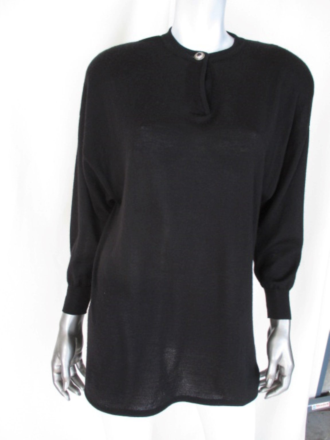 90's Gianni Versace Couture cashmere/wool/silk sweater 7