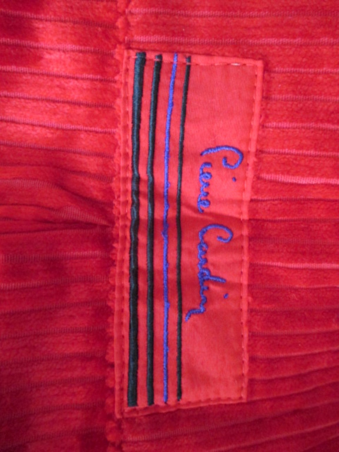 "Red Pierre Cardin  ""Ligne Sport"" apres ski trousers For Sale"