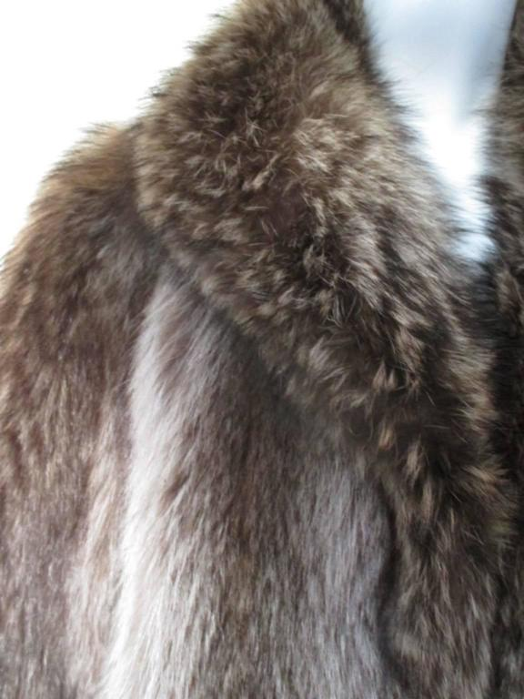 Rare Raccoon very warm fur coat  2