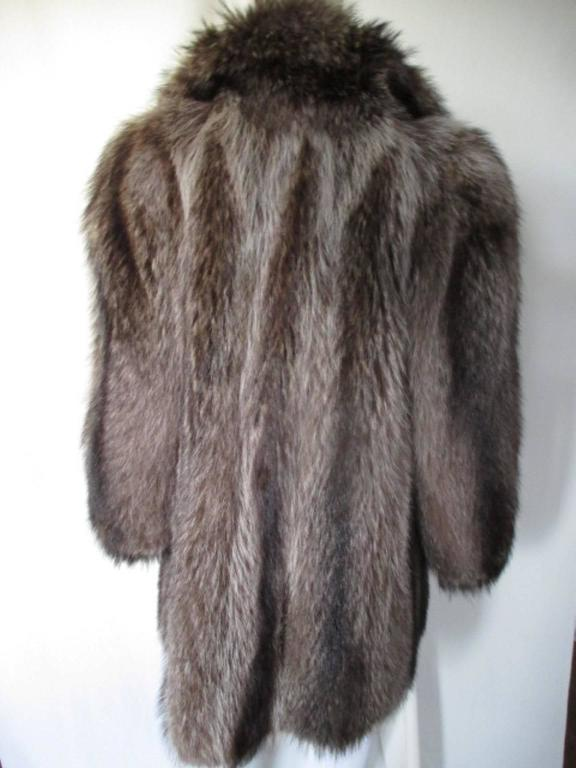 Rare Raccoon very warm fur coat  3