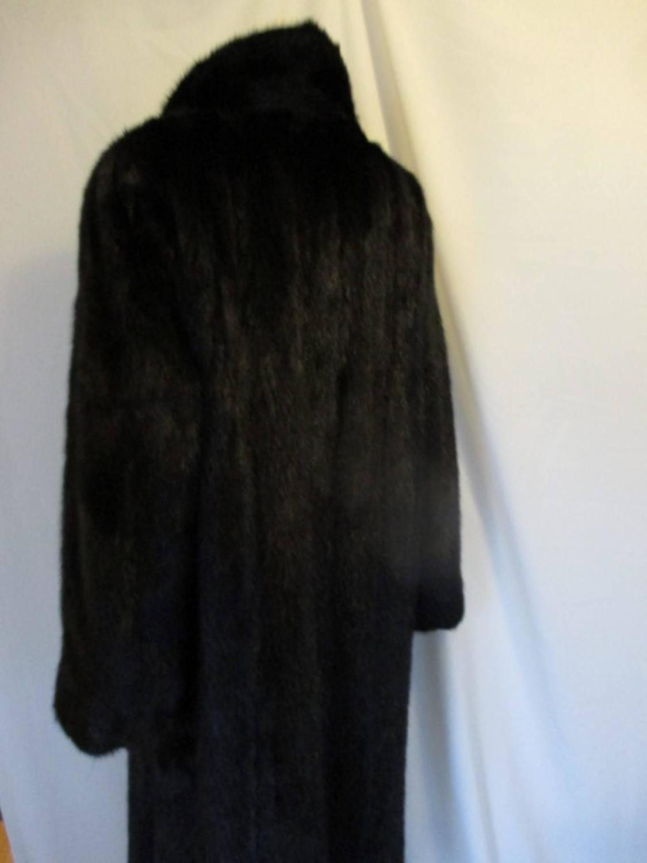 Beautiful Black Diamond Mink Fur Coat At 1stdibs