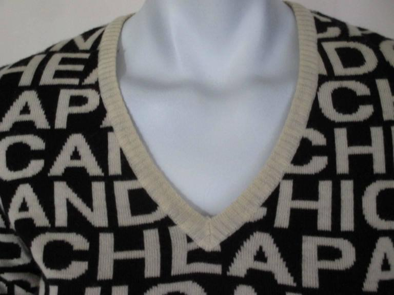 moschino cheap and chic wool sweater 3