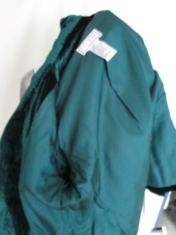 velvet green yves saint laurent blazer 6