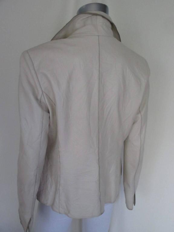 Women's Balmain Paris soft leather jacket For Sale