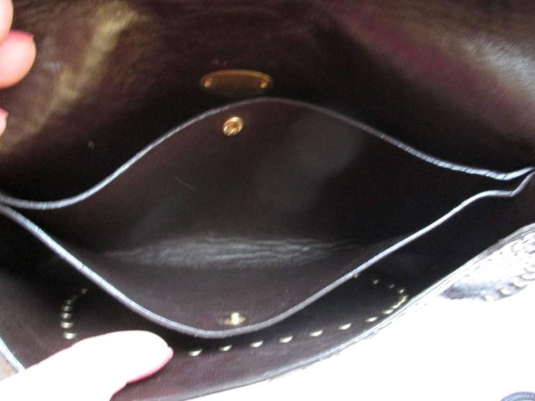 Celine little brown leather shoulderbag In Good Condition For Sale In Amsterdam, NL