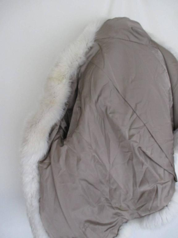 soft fox fur coat For Sale 2