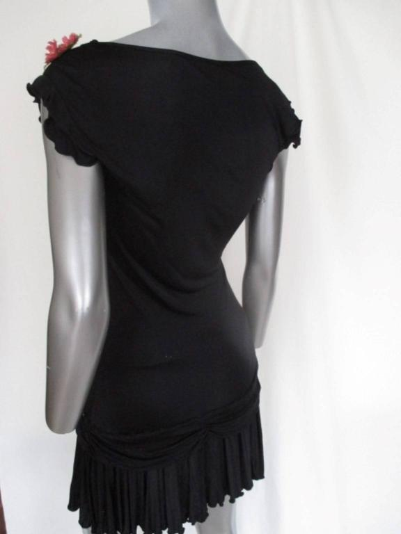 Black john galliano little black dress For Sale