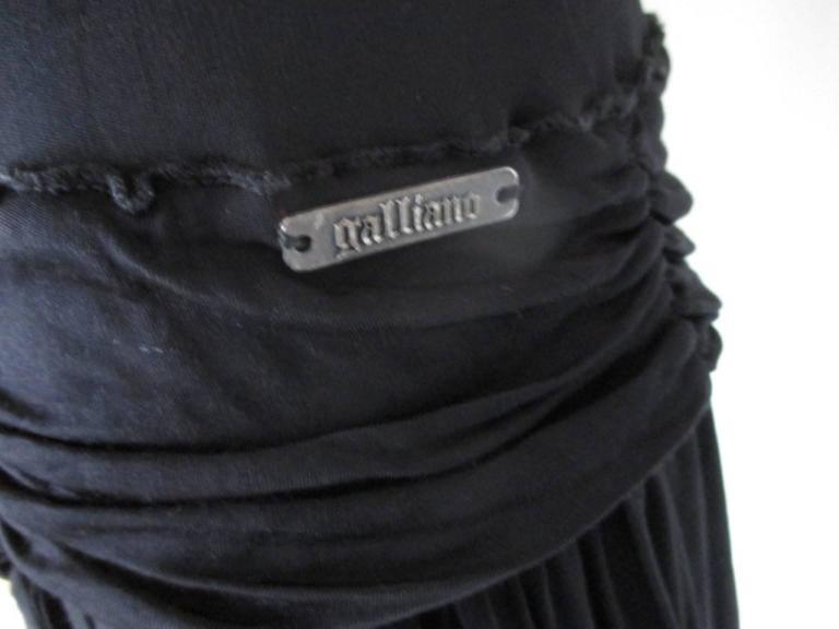 Women's or Men's john galliano little black dress For Sale