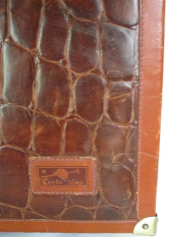 beautiful brown leather briefcase 4
