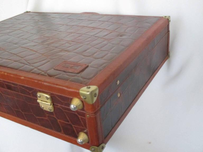 beautiful brown leather briefcase 6