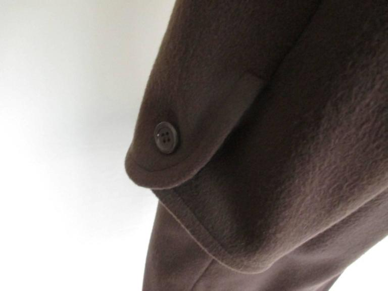 yves saint laurent double breasted wool coat 6