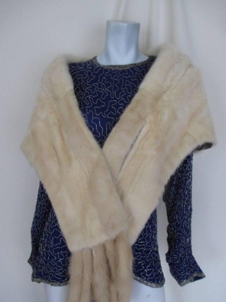 Berkeley furs vintage Mink Fur Stole  For Sale 2