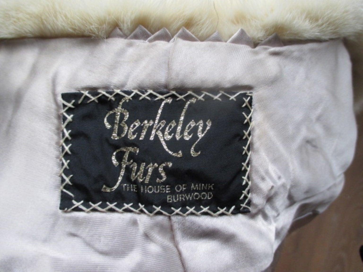Berkeley Furs Vintage Mink Fur Stole For Sale At 1stdibs