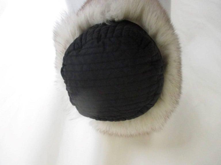 arctic fox fur trapper hat For Sale 2