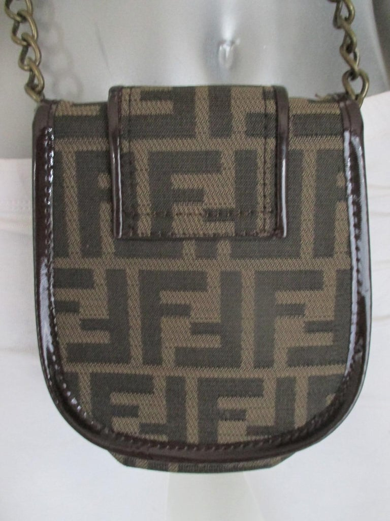 d884c42a4cc7 Vintage 1990 Fendi small cross body bag -collectors item- for your phone and