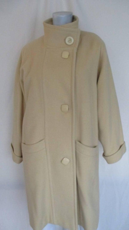 Pierre Cardin creme color wool coat  5