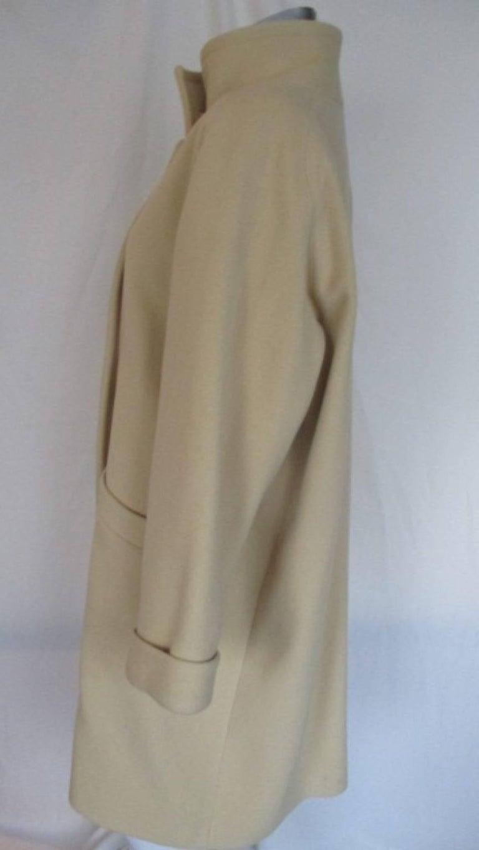 Pierre Cardin creme color wool coat  6