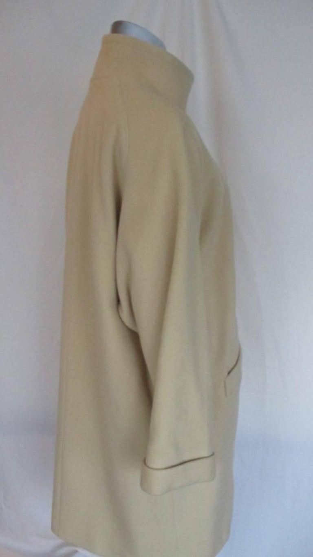 Pierre Cardin creme color wool coat  8