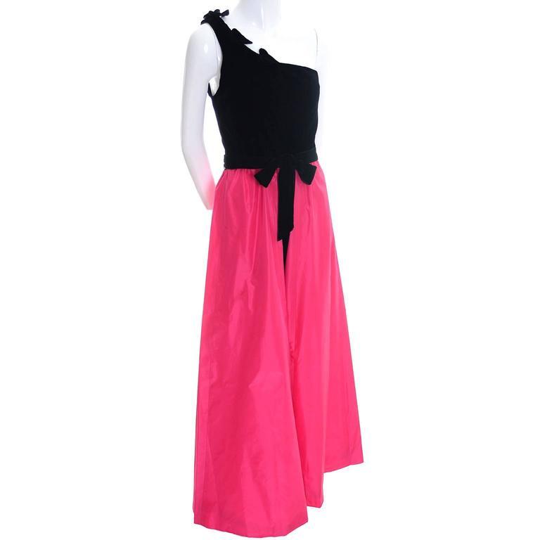 1980s eugene alexander sarasota florida vintage dress