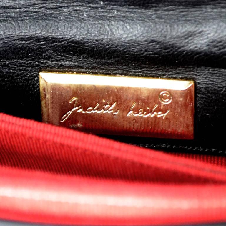 Judith Leiber Vintage Handbag Animals Horse Rhino Monkey Elephant Patent Leather For Sale 1