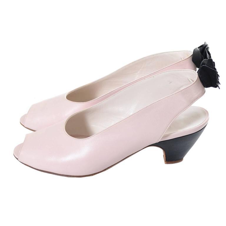 Miss Maud Paris Vintage Shoes Maud Frizon Pink Leather ...