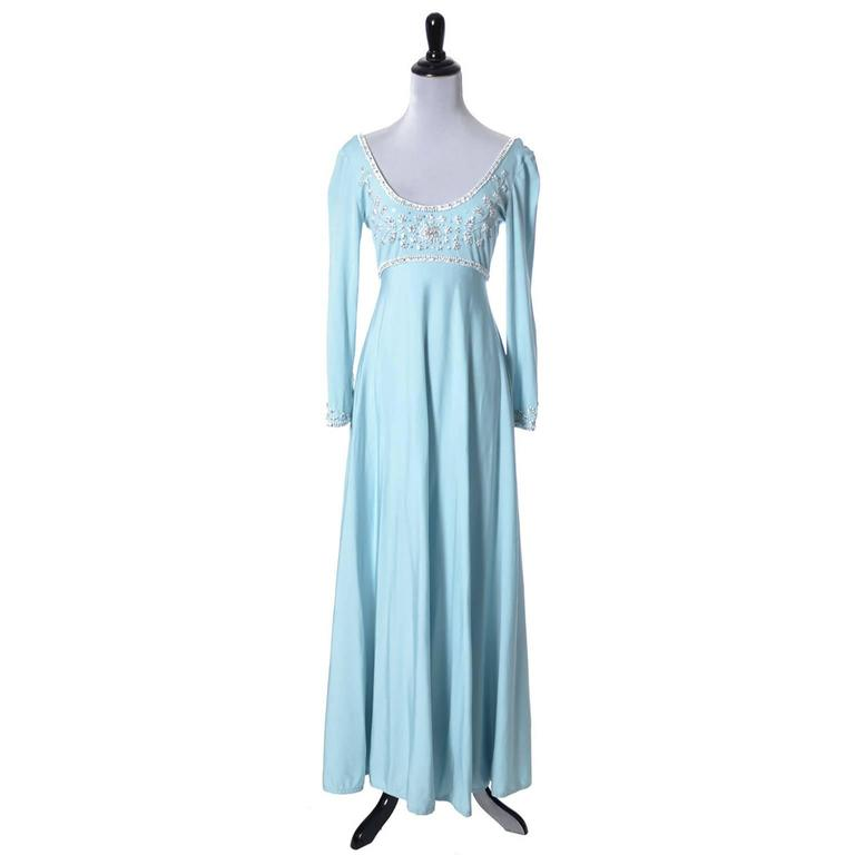 Sufferers this 1970 Vintage dresses long trait