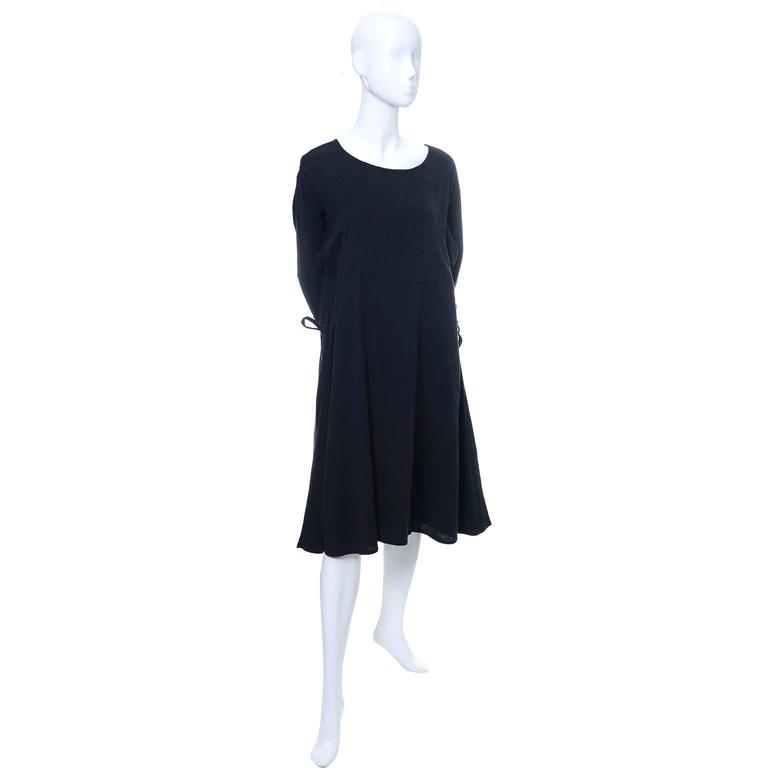 Issey Miyake Sport 1980s Cotton Dress or Tunic Made in Japan Minimalist Chic 2