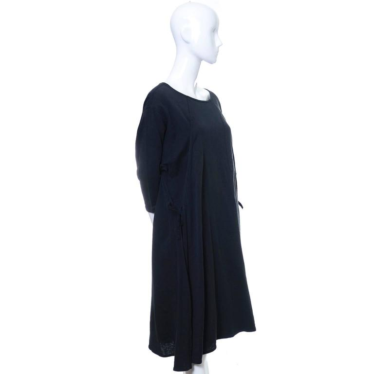 Issey Miyake Sport 1980s Cotton Dress or Tunic Made in Japan Minimalist Chic 4