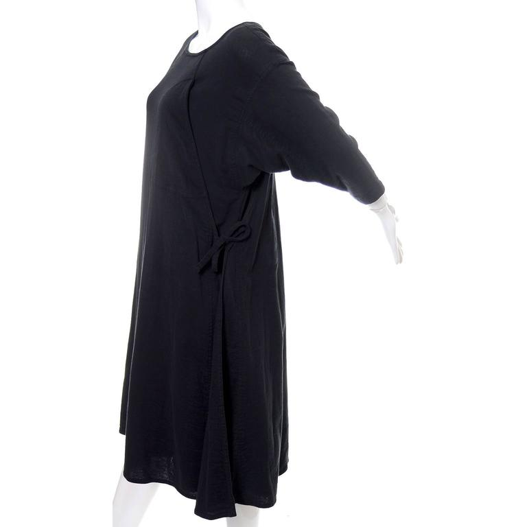 Issey Miyake Sport 1980s Cotton Dress or Tunic Made in Japan Minimalist Chic 3