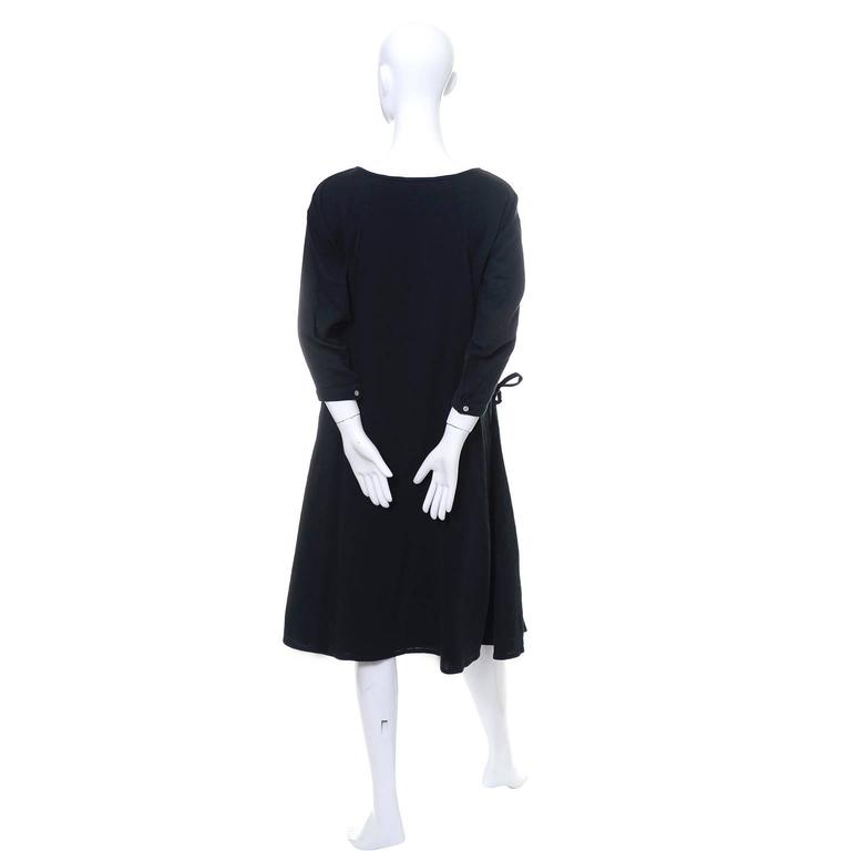 Issey Miyake Sport 1980s Cotton Dress or Tunic Made in Japan Minimalist Chic 5