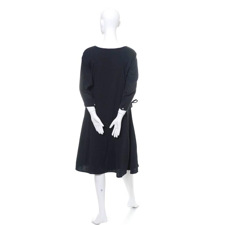 Issey Miyake Sport 1980s Cotton Dress or Tunic Made in Japan Minimalist Chic 6