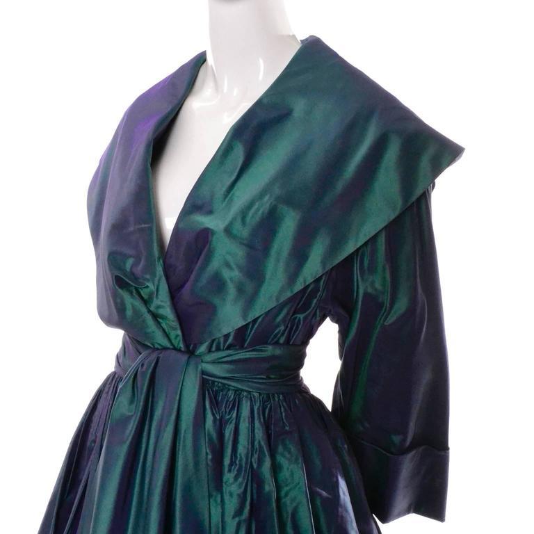 Taffeta Vintage Dress