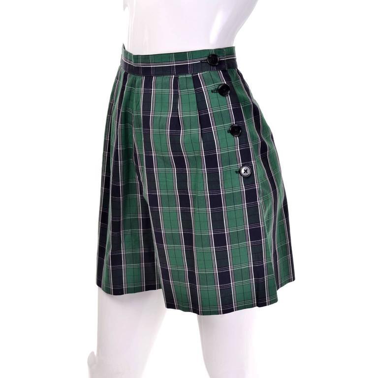 Dorothy Cox 1940s McMullen Rare Playsuit Plaid Shorts Shirt Halter Bandeau Top  3