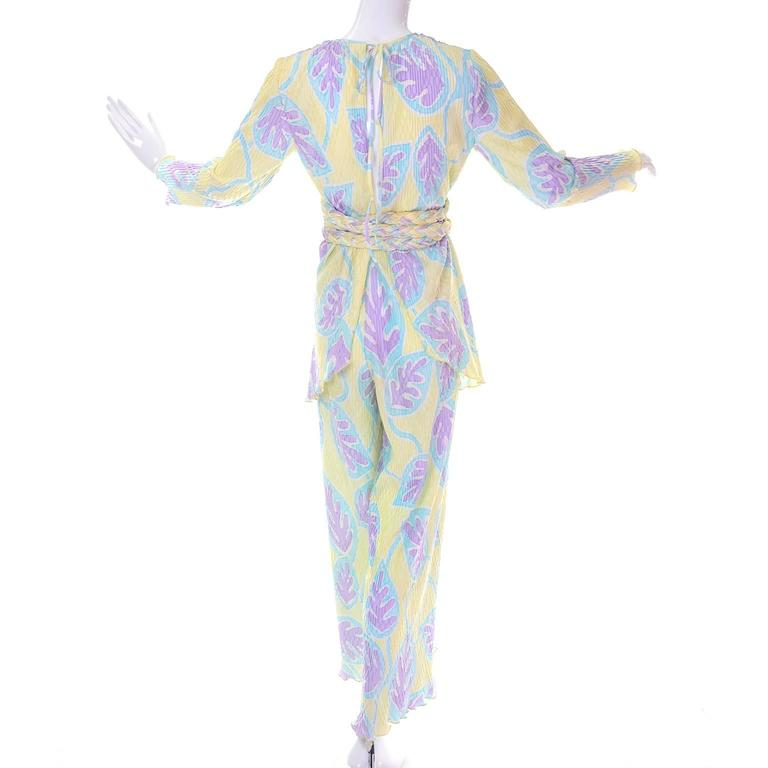 This is an early Mary McFadden Collection I ensemble from Bergdorf Goodman. Please press