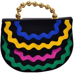 Moschino Multi Color Vintage Handbag