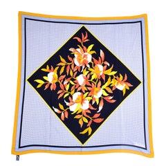 Balenciaga Paris Vintage Silk Scarf