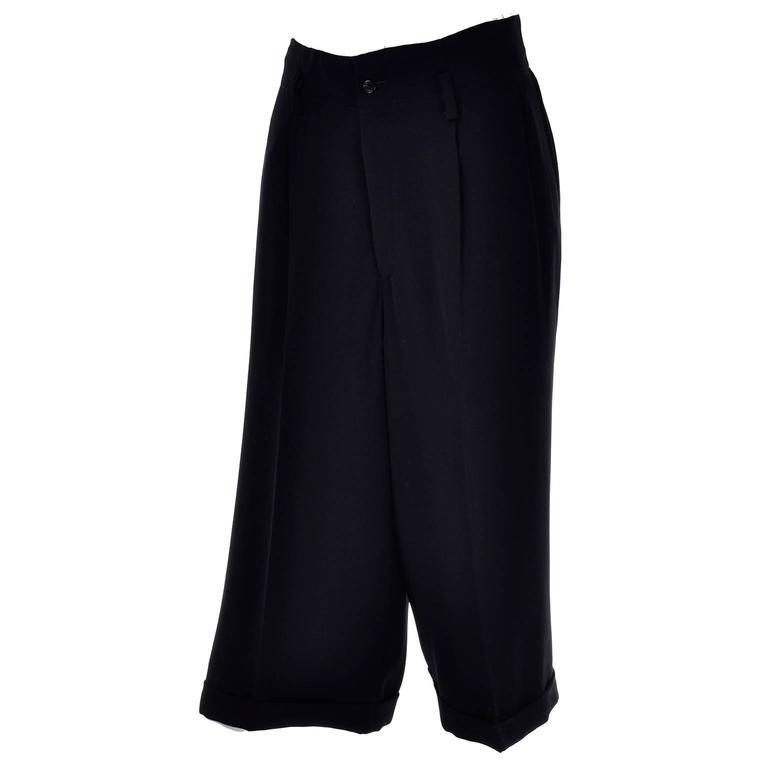 Comme des Garcons Vintage Cropped Oversized Pants Medium