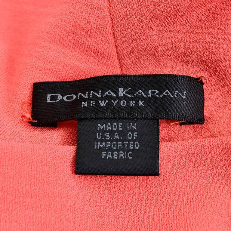 Vintage Donna Karan Metallic Organza Exotic Evening Skirt Wrap 8