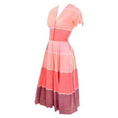 Vintage McMullen 1950s Dress Worn By Jessica Chastain In The Tree of Life