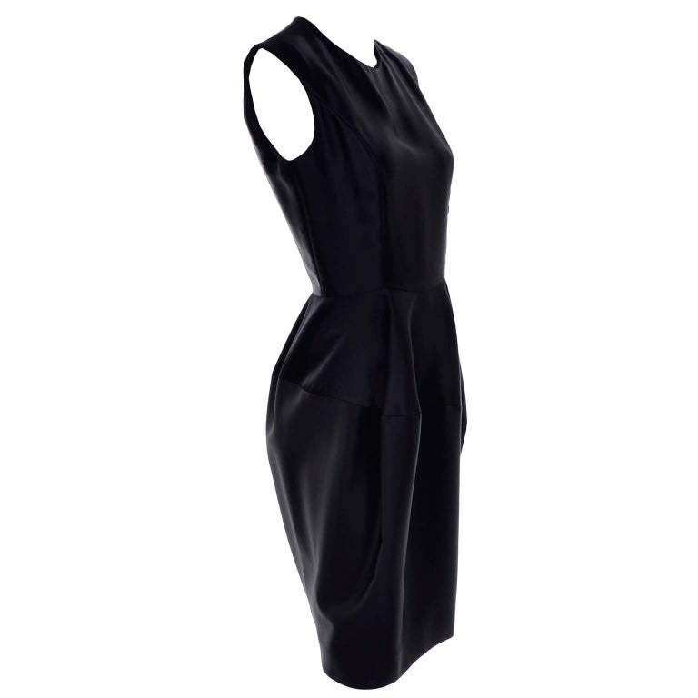 YSL Yves Saint Laurent Autumn Winter 2008 Documented Little Black Dress 2/4 In Good Condition For Sale In Portland, OR