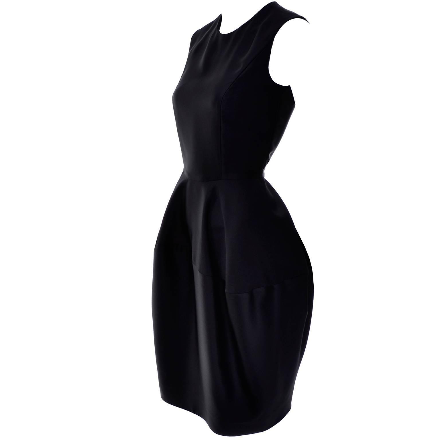 YSL Yves Saint Laurent Autumn Winter 2008 Documented Little Black Dress 2/4