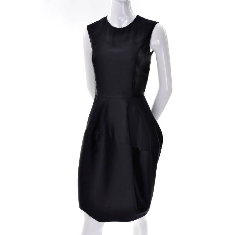 YSL Yves Saint Laurent Autumn Winter 2008 Documented Little Black Dress 2/4 For Sale 1