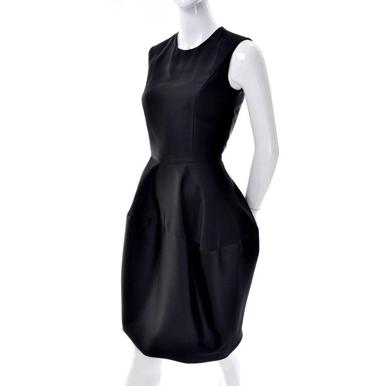 Women's YSL Yves Saint Laurent Autumn Winter 2008 Documented Little Black Dress 2/4 For Sale