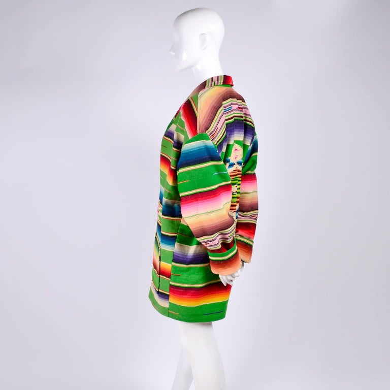 1990 Cher Owned Mermaids Vintage Southwestern Coat by Chris O'Connell W Photo 1